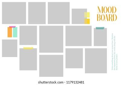 Mood Board Template 23