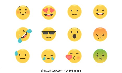 Mood, can be used for web pages, banners, mood-vector maps