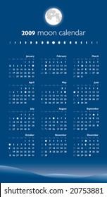 Moon Calendar 2009