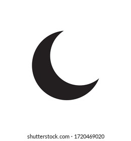 moon icon color style design