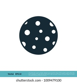 Moon Icon Vector Logo Template