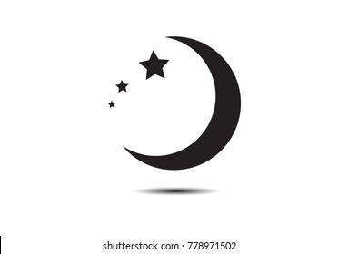 Crescent Moon Symbol Images, Stock Photos & Vectors