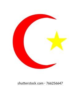 moon Star vector logo