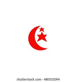 moon vector logo
