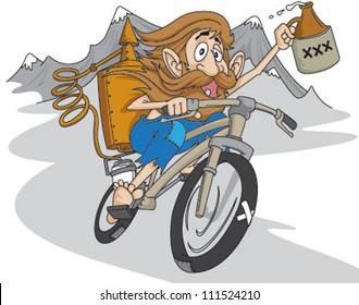 moonshine mountain biker