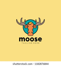 Moose Logo Template