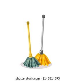 mop vector illustration