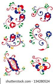 Moravian ornaments
