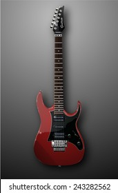 more high detailed electric guitar