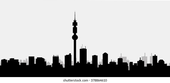 Morning Chicago Skyline - Vector
