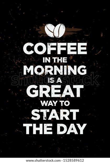 morning start coffee bean icon motivation signs symbols food