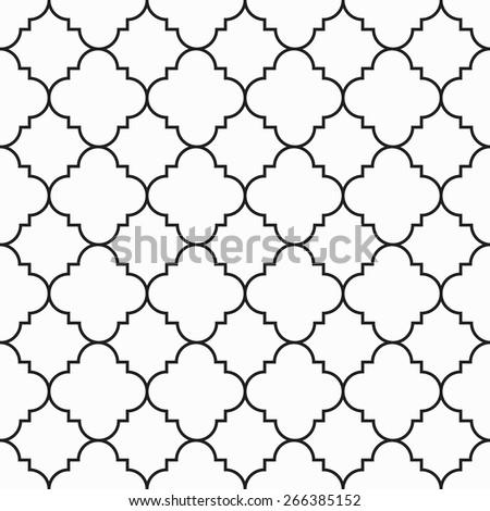 Moroccan Art Islamic Arabic Muslim Asian Stock Vector (Royalty Free ...