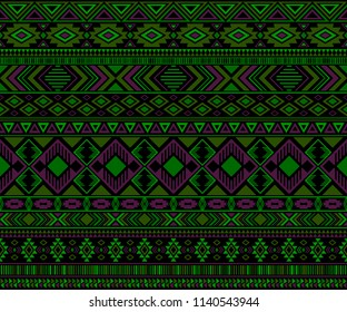 Moroccan design tribal ethnic motifs geometric vector background. Cute african tribal motifs textile print ethnic traditional design. Kaftan clothes pattern with chevron zigzag.