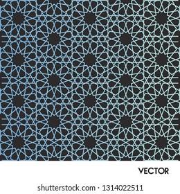 Фотообои Moroccan pattern blue