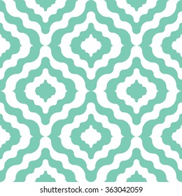 Moroccan  pattern seamless vector background tile