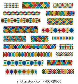 moroccan patterns washi tape