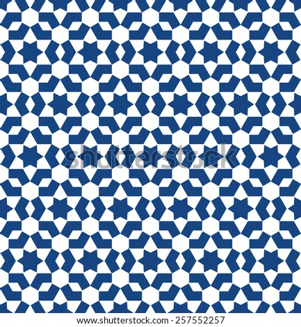 Moroccan Style Mosaic Ornament Seamless Mosaic Stock Vector Royalty Adorable Moroccan Design Pattern