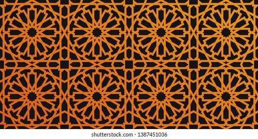 Moroccan Zellige pattern - Islamic ornament