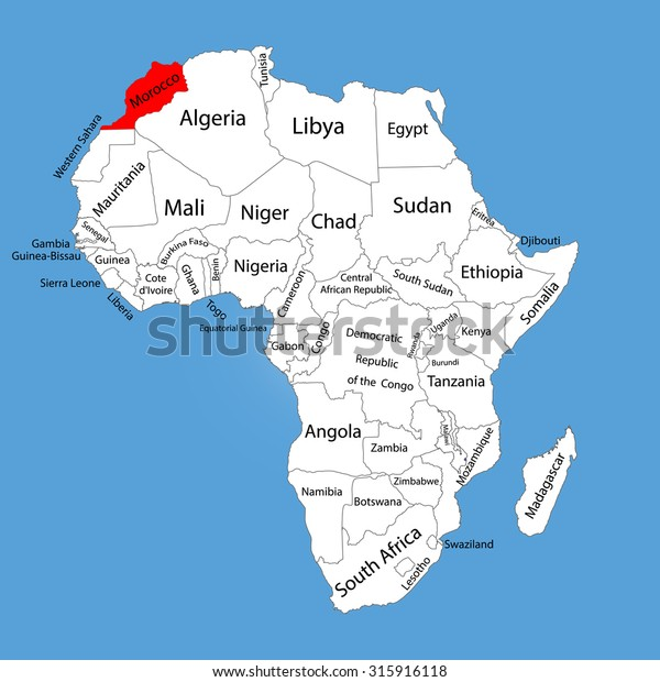 Morocco Vector Map Silhouette Isolated On Stock Vector ... on saudi arabia map, angola map, ghana map, egypt map, europe map, sierra leone map, algeria map, mali map, mexico map, malawi map, cameroon map, mauritania map, liberia map, senegal map, moldova map, chad map, italy map, nigeria map, brazil map, japan map, spain map, kenya map, india map, iraq map, rwanda map, lesotho map, israel map, south africa map, eritrea map, mauritius map, namibia map, tunisia map, mozambique map, poland map, libya map, france map, western hemisphere map, niger map,