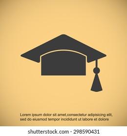 Mortar Board or Graduation Cap