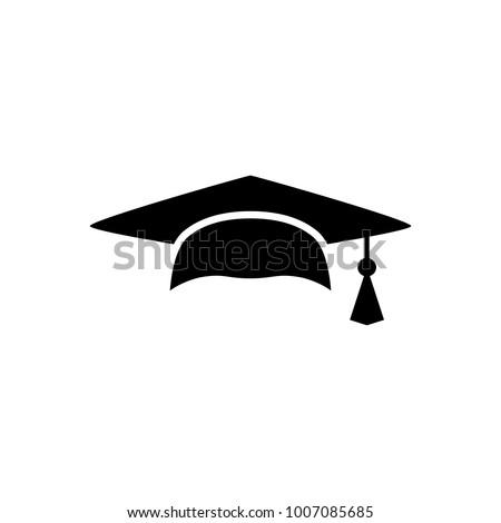 Mortar Board Graduation Cap Educator Graduation Stock Vector ... e1779b1c0b61