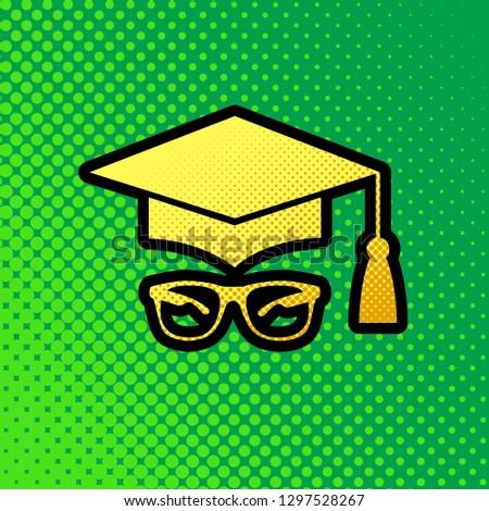 Graduation Hat Art Project