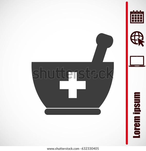 Mortar and pestle icon