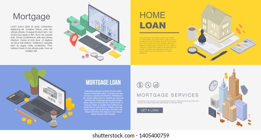 Mortgage Banner Images Stock Photos Vectors Shutterstock
