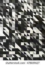 mosaic background for design, seamless abstract background