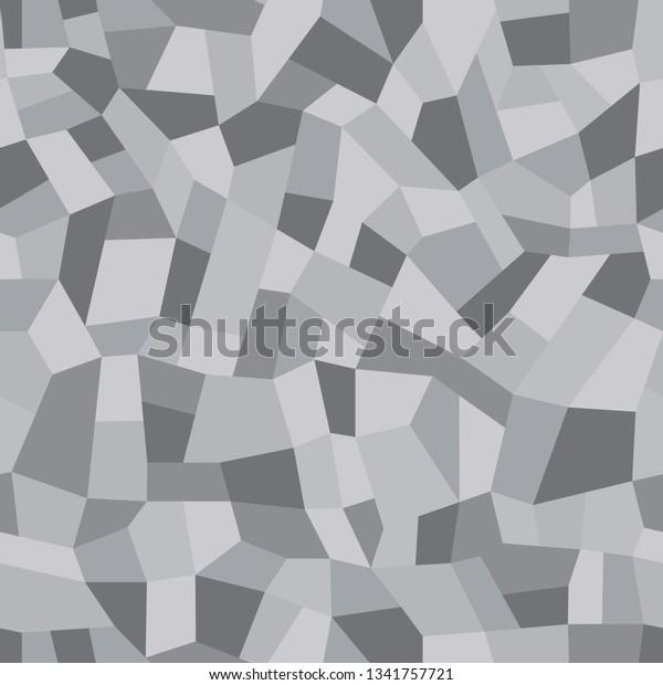 Mosaic Floors Marble Chips Floors Terrazzo Stock Vector