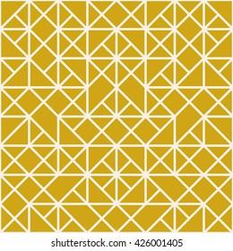 Mosaic geometric pattern. Triangle background