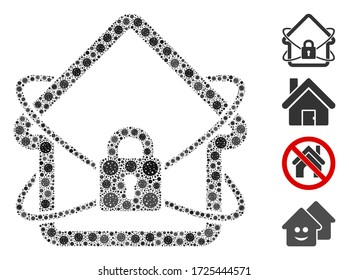 Lockdown Icon Images Stock Photos Vectors Shutterstock
