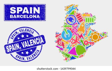 Valencia Map Of Spain.Map Of Valencia Images Stock Photos Vectors Shutterstock