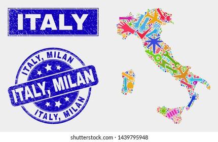 Map Milan Images, Stock Photos & Vectors   Shutterstock