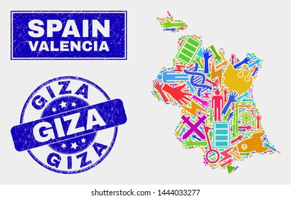 Map Of Spain Valencia.Valencia Map Images Stock Photos Vectors Shutterstock