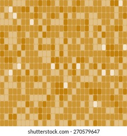 Mosaic shiny seamless pattern, abstract background, disco print