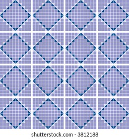 mosaic squares seamless pattern individual squares change colors easily vector