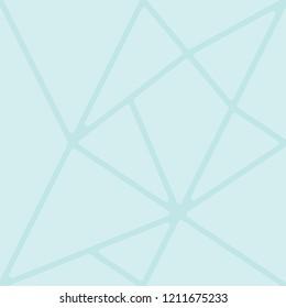 Mosaic tile pattern vector. Design cyan on light cyan background. Design print for textile, fabric, wallaper, background. Set 4