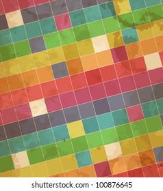 Mosaic. Vector illustration. Eps 10.