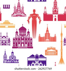 Moscow architecture pattern