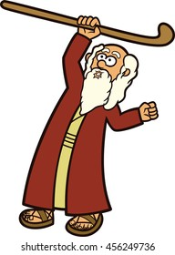 Moses clipart staff moses, Moses staff moses Transparent FREE for ... | 280x192