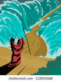 moses and the red sea miracle