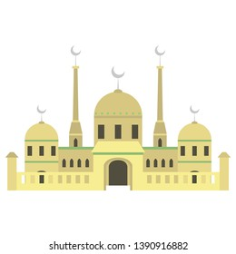 The mosque building is the home of Muslims. Day celebrations, discussions, religious studies, lectures and learning of the Holy Qur'an are often performed at mosques.