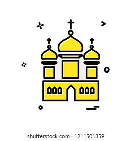 Mosque icon design vector