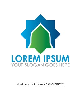 mosque vector , islamic logo vector