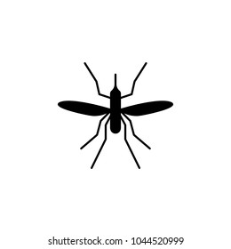 mosquito icon. Elements of insect icon. Premium quality graphic design. Signs and symbol collection icon for websites, web design, mobile app, info graphics on white background