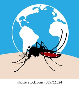 Mosquitoes spread out entire world and carry many disease such as dengue fever, zika disease, yellow fever, chikungunya disease, filariasis, malaria , enchaphalitits and else.