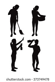Most applicable housewives silhouettes