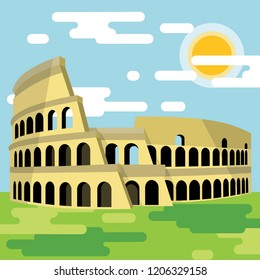 Most famous Coloseum on the world