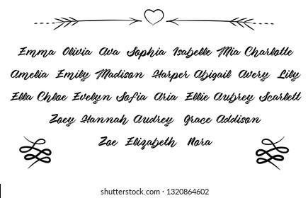 Olivia Name Images, Stock Photos & Vectors | Shutterstock
